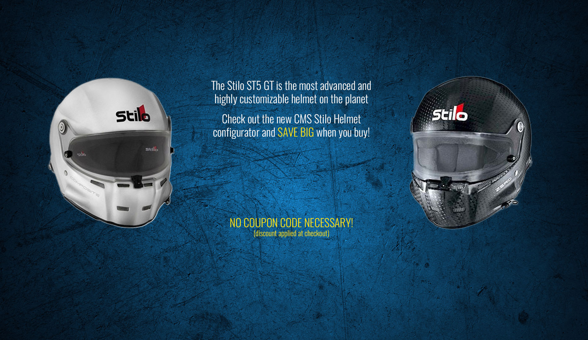 Stilo Helmet Free Shield Banner