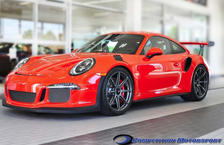Forgeline GE1R CL Porsche 991 GT3/GT3RS Track Package  (19-Inch)
