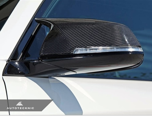 Autotecknic BMW M-Style Carbon Fiber Mirror Covers