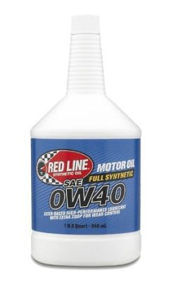 Red Line 0W40 Synthetic Motor Oil