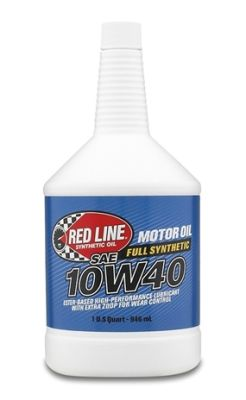 Red Line 10W40 Synthetic Motor Oil