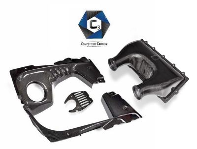 C3 Carbon Ferrari 458 Spider Engine Bay Complete Package