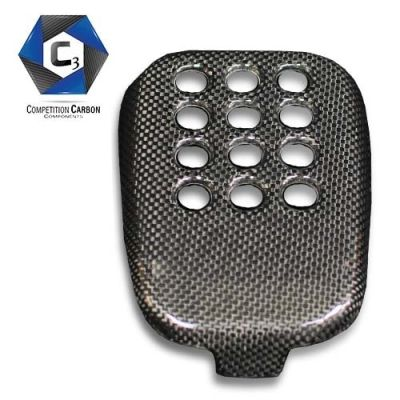 C3 Carbon Ferrari 488 GTB/Spider Carbon Fiber Rear Fog Light Cover