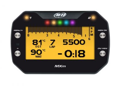AiM Sports MXm Dash Logger