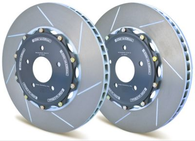 A1-130 Girodisc 2pc Front Brake Rotors (Audi S4/S5 2009-2016)