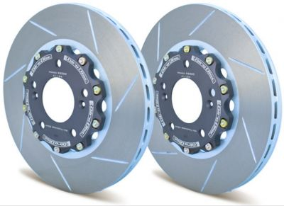 A1-166 Girodisc 2pc Front Brake Rotors (Honda FK2/8 Type R)