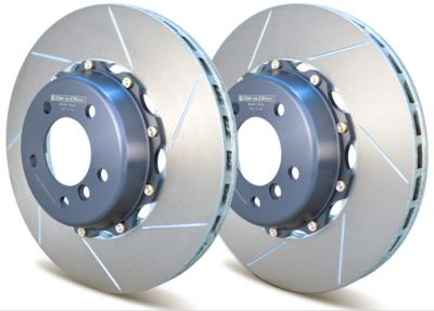 A1-114 Girodisc 2pc Front Brake Rotors (BMW 335i 2006-2008)