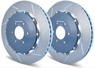 A2-006 Girodisc 2pc Rear Brake Rotors (Dodge Viper 2003+)