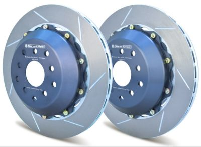 A2-007 Girodisc 2pc Rear Brake Rotors (Subaru STI 2004-2007)