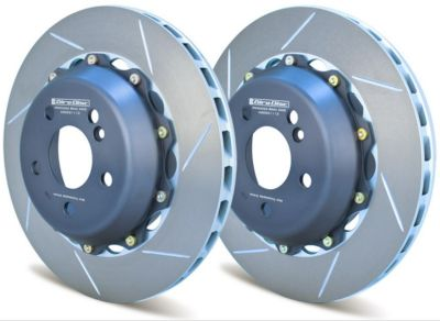 A2-022 Girodisc 2pc Rear Brake Rotors (2007-2009)