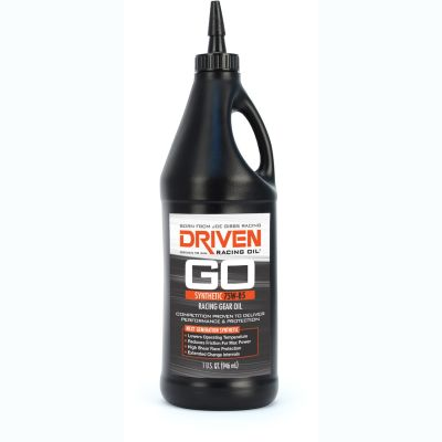 "Driven ""GO"" Synthetic 75W-85 Racing Gear Oil 1 Quart"