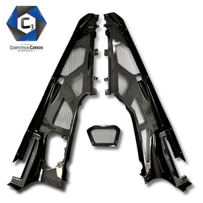 C3 Carbon Lamborghini Huracan LP610 Carbon Fiber Engine Bay Panels