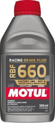 Motul RBF 660 Racing Brake Fluid (500 ml)