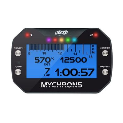 AiM Sports MyChron5S Karting Dash and Data Logger