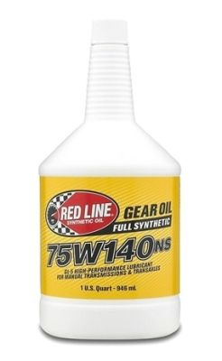 Red Line 75W140NS GL-5 Gear Oil