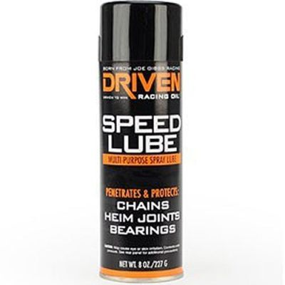 Driven Speed Lube 8 Ounce Aerosol Spray Can