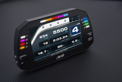 AiM Sports MXG 1.2 Large Color TFT Dash and Data Logger