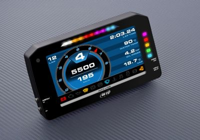 AiM Sports MXP Midsize Color TFT Dash and Data Logger