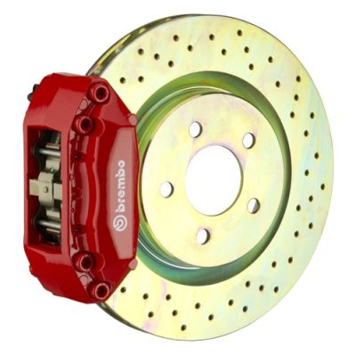 Brembo Brakes Front 330x28 One Piece - Four Pistons