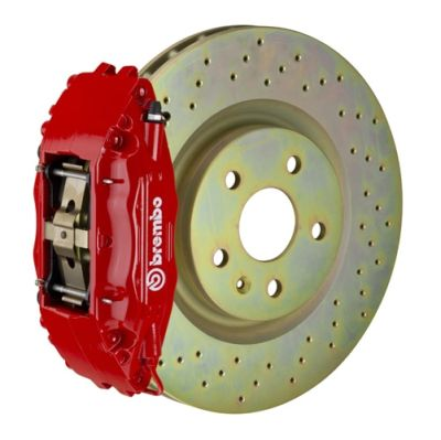 Brembo Brakes Front 332x32 One Piece - Four Pistons