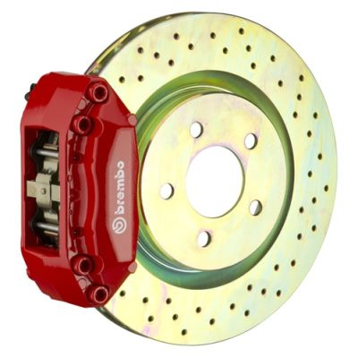 Brembo Brakes Front 320x28 1-Piece - Four Pistons
