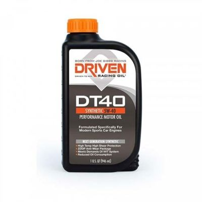 Driven DT40 5W-40 European Sports Car Synthetic Oil