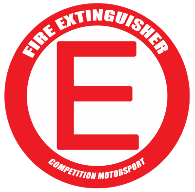 CMS Fire Extinguisher Decal