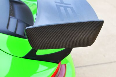 C3 Carbon Porsche GT2 RS Style Wing End Plates for GT3 RS