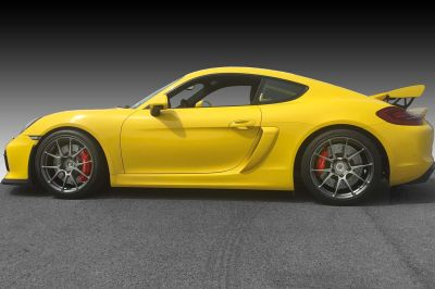 Forgeline Wheels Porsche 981 Cayman GT4 Track Package  (19-Inch)