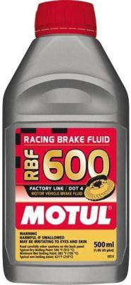 Motul RBF 600 Racing Brake Fluid (500 ml)