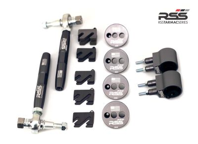 RSS Front Axle Camber / Mono Ball Suspension Kit (991 GT3/GT3RS, 981 GT4)