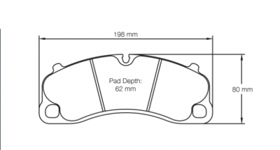 Pagid 4294 FRONT (for Steel Rotors)