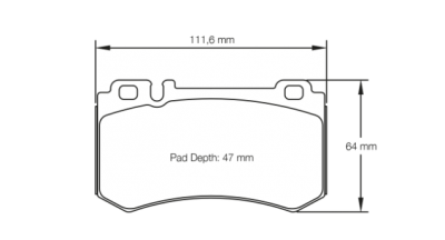 Pagid Racing Brake Pads No. 8031