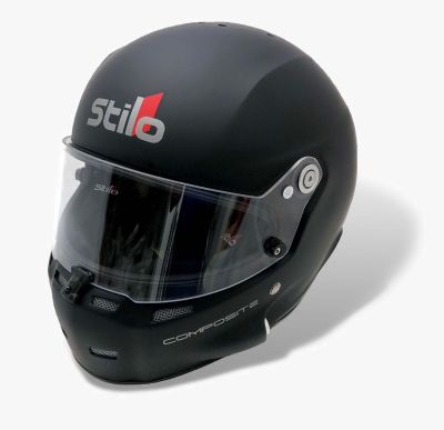 Stilo ST5 GT in Matte Black w/ Iridium Red Visor