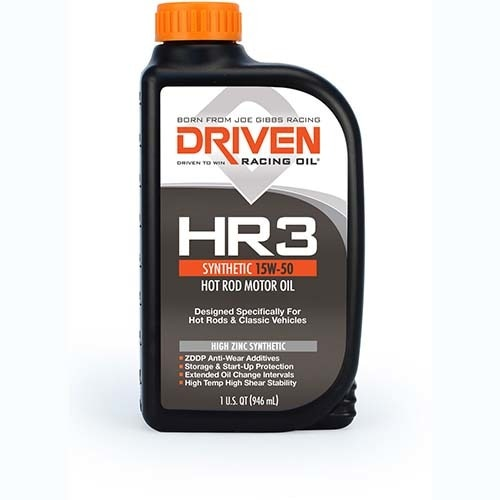 Driven HR3 Synthetic 15W-50 Hot Rod Oil 1 Quart