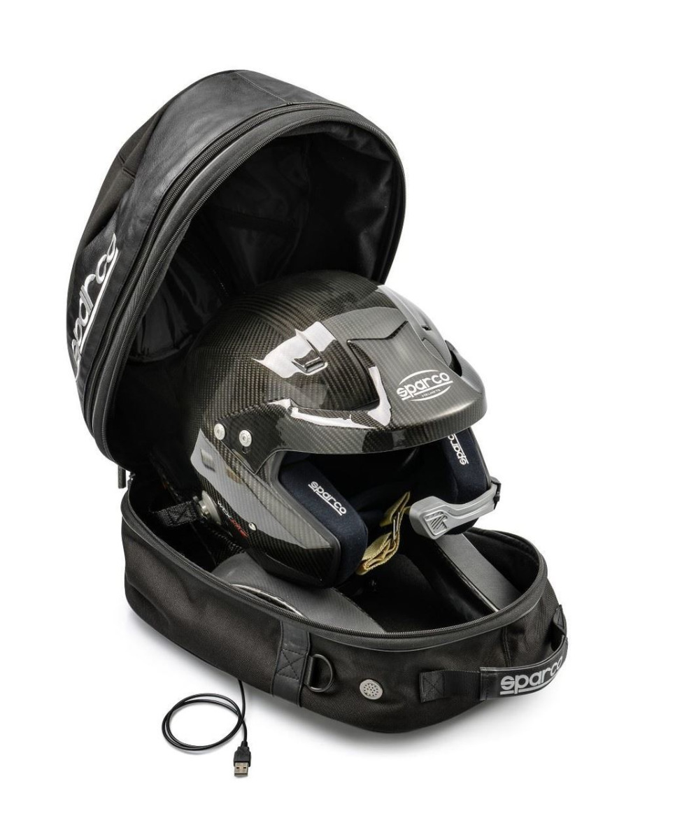 Sparco Cosmos Helmet & HANS Bag w/ Dryer
